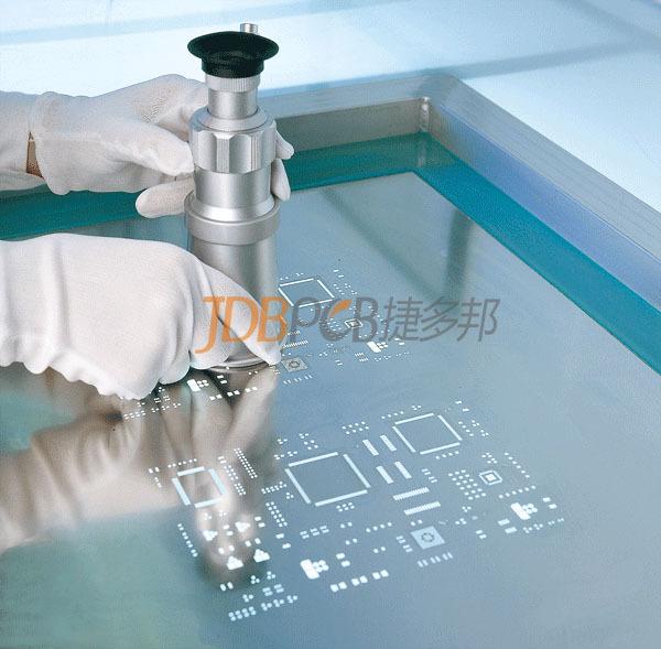 捷多邦PCB階梯鋼網的生產制作