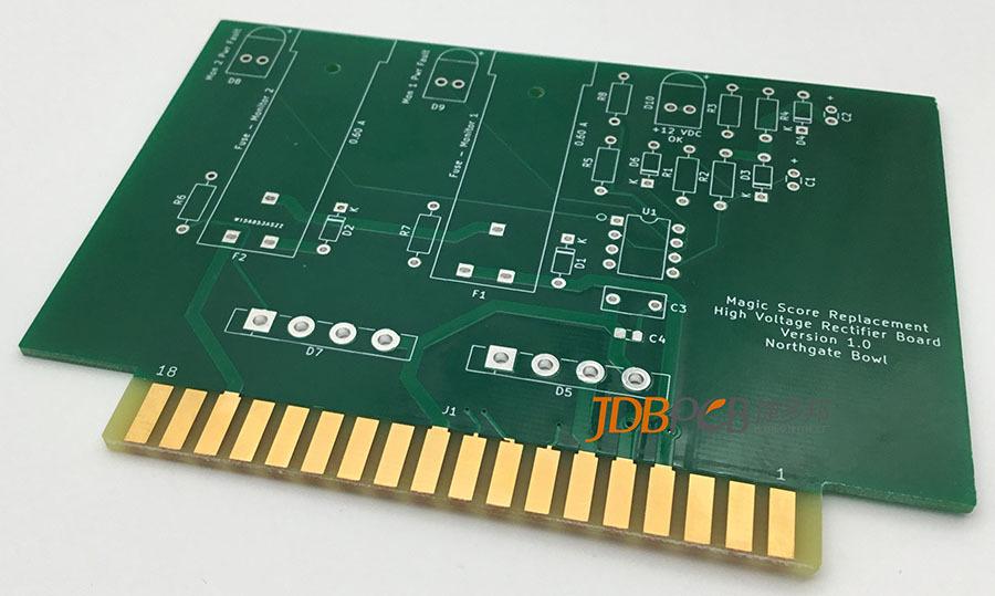 PCB表面處理之沉金工藝的特點