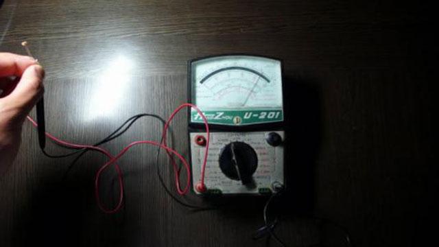 光敏电阻的检测