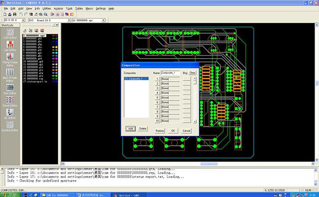 用CAM350软件画PCB板