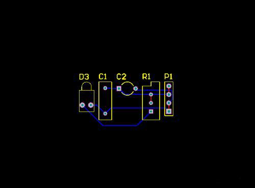 PCB布线图