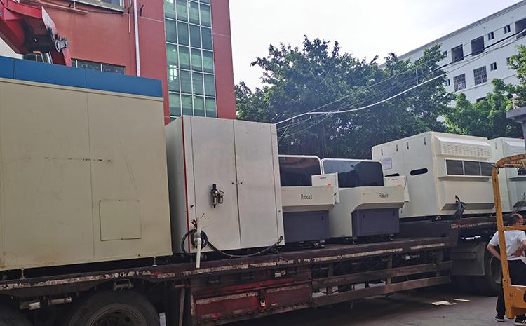搬至新工厂的生产设备