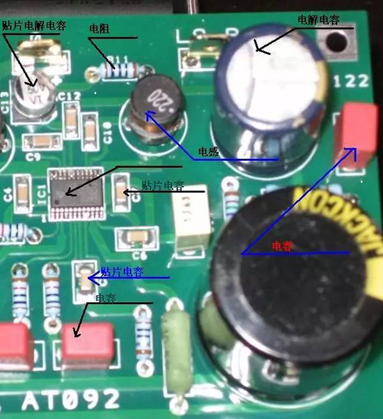 pcb板上的电子元件