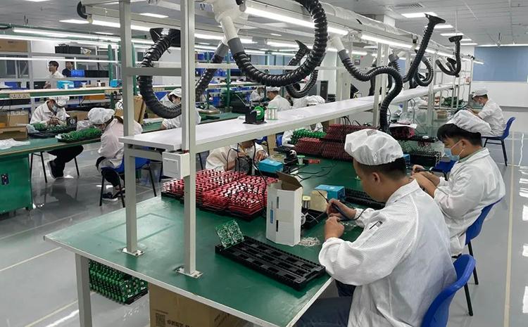 捷多邦PCB新工厂环境