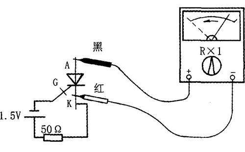 单向晶闸管检测