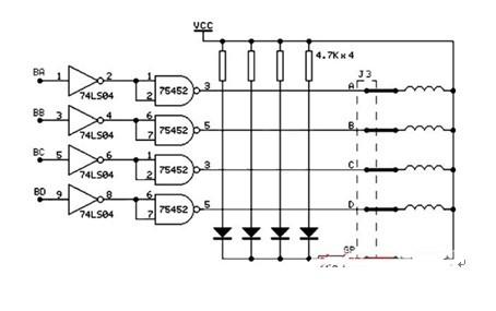一款可将电脉冲信号转变为角位移或线位移的步进电机及其驱动电路图