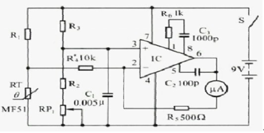 LCD和控制器接口电路图
