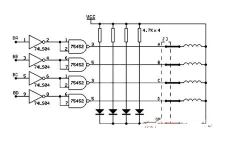 一款可将电脉冲信号转变为角位移或线位?#39057;?#27493;进电机及其驱动电路图