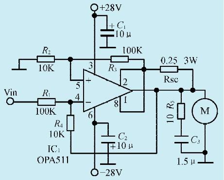 一款直流电机驱动电路-电路基础电路-jdbpcb.com