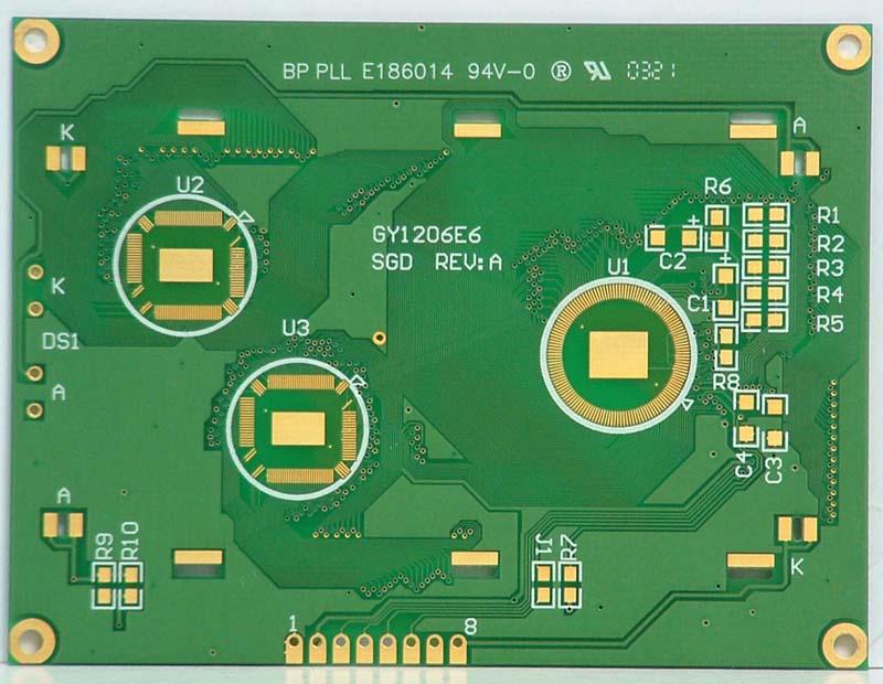 双面覆铜板PCB
