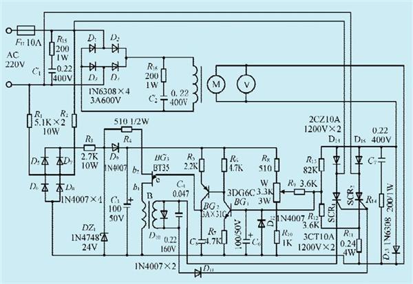 一款600W直流电机调速电路设计