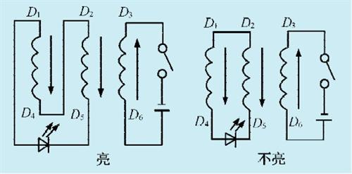 一款电机绕组判断电路