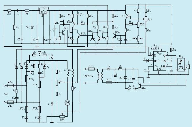 一款新颖的小功率直流电机调速电路