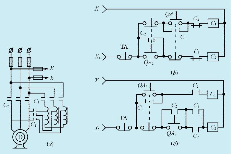 图1:一款大功率电机简易程控制电路