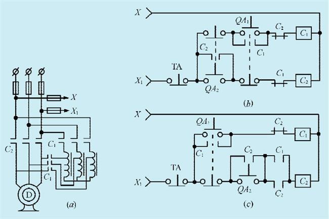 一款大功率电机简易程控制电路