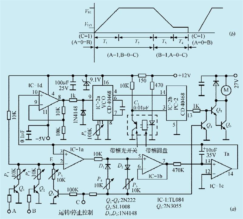 一款电机速度精确控制电路