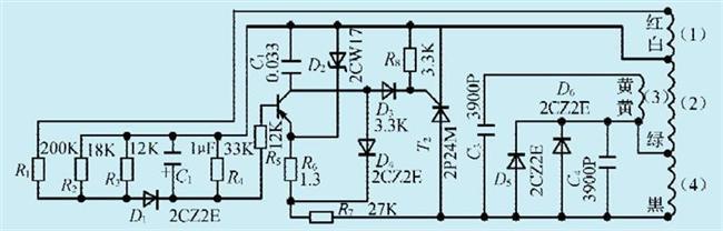 一款单相汽油发电机控制电路