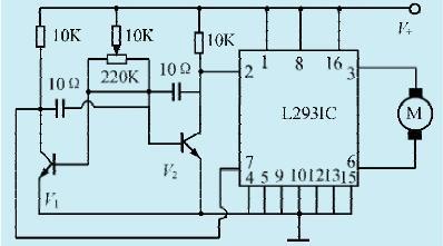 一款双向比例电机控制电路