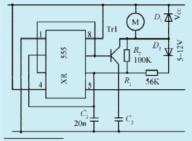 一款小型直流电机控制电路 二图片