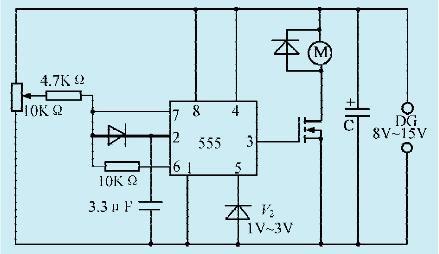 一款电动车电机驱动控制电路(一)