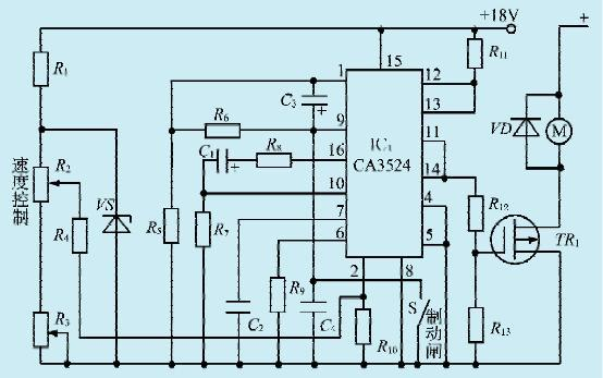 一款电动车电机驱动控制电路(二)