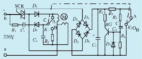 一款新颖的单相电机控制电路