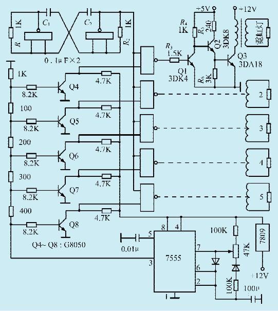 图1 一款霓虹灯驱动电路