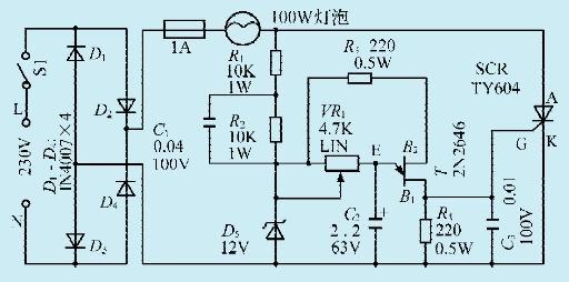 首页 工程师家园 >> 技术资料       本文介绍一款线性调光器控制电路
