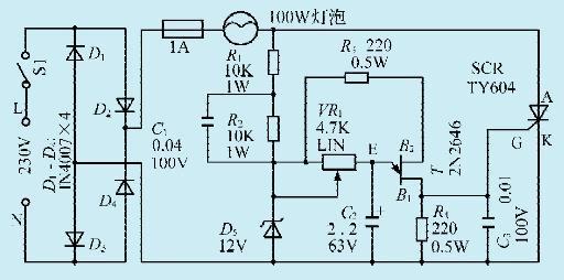 一款线性调光控制器