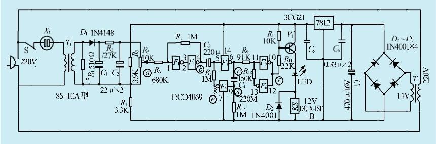 一款空调器保护电路