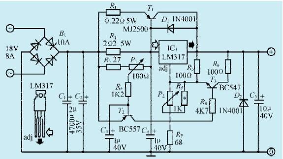 一款微型电钻控制电路
