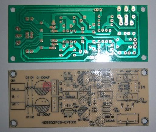 生产批发功放板pcb 深圳捷多邦专业绘制功放板电路