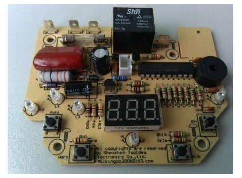 低价陶瓷电热水壶电路板-jdbpcb.com