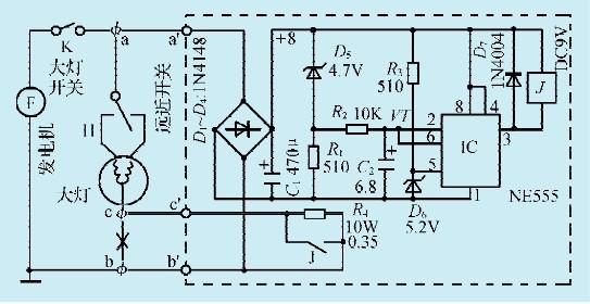 一款摩托车大灯限压器电路-jdbpcb.com