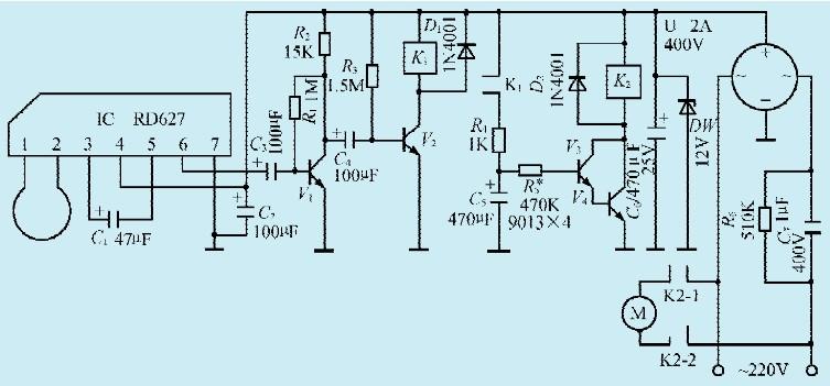 换气扇电容接线图