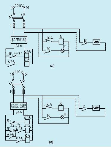 km1和km2为jrx-13f小型直流电磁继电器,电压24v,吸合电流9.5ma.