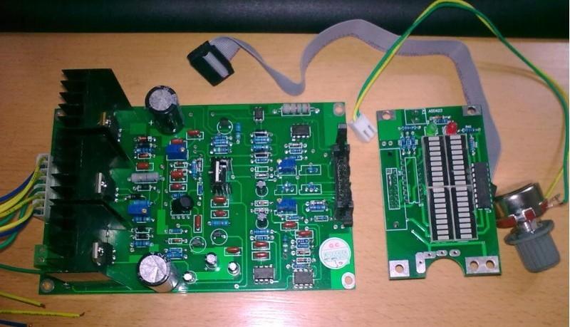 粉体电路控制板