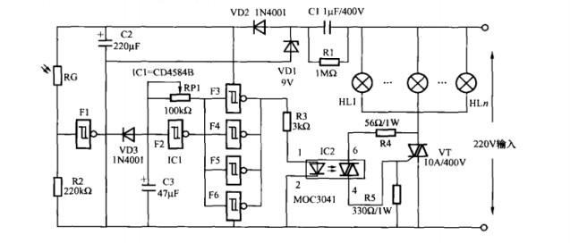 moc3010s应用电路