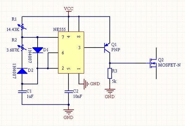 脉冲电路板