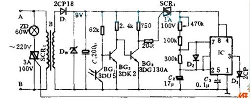 场的安全信号灯电路原理
