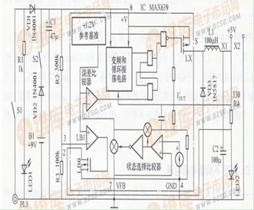 直流UPS电源电路图