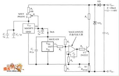 电流变送器电路图