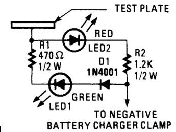 电池充电器探针电路图