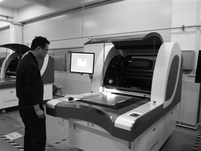 中国之光 温州欧威科技研发出国内第一台高质量线路板检测仪