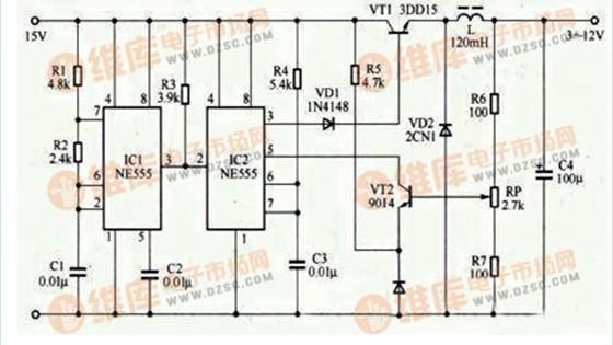 变压器隔离的电源电路
