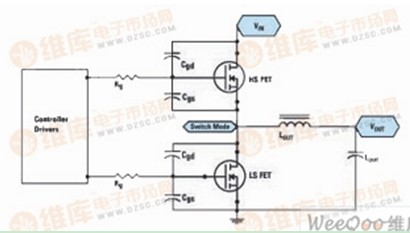 一款同步降压转换器电路图