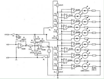 瞬变电流检测仪电路图