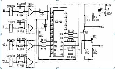 款线阵ccd驱动电路