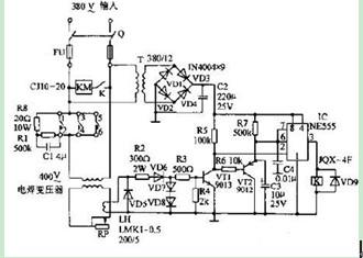 电焊机空载节电电路图