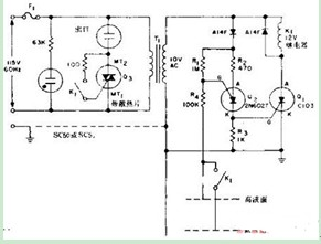 液面控制器原理电路图